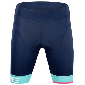 Cube Teamline Fahrrad Shorts Damen blue´n´mint